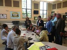 "Covington Partners celebrated ""Lights on Afterschool"""